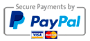We accept payment via Paypal for all online orders